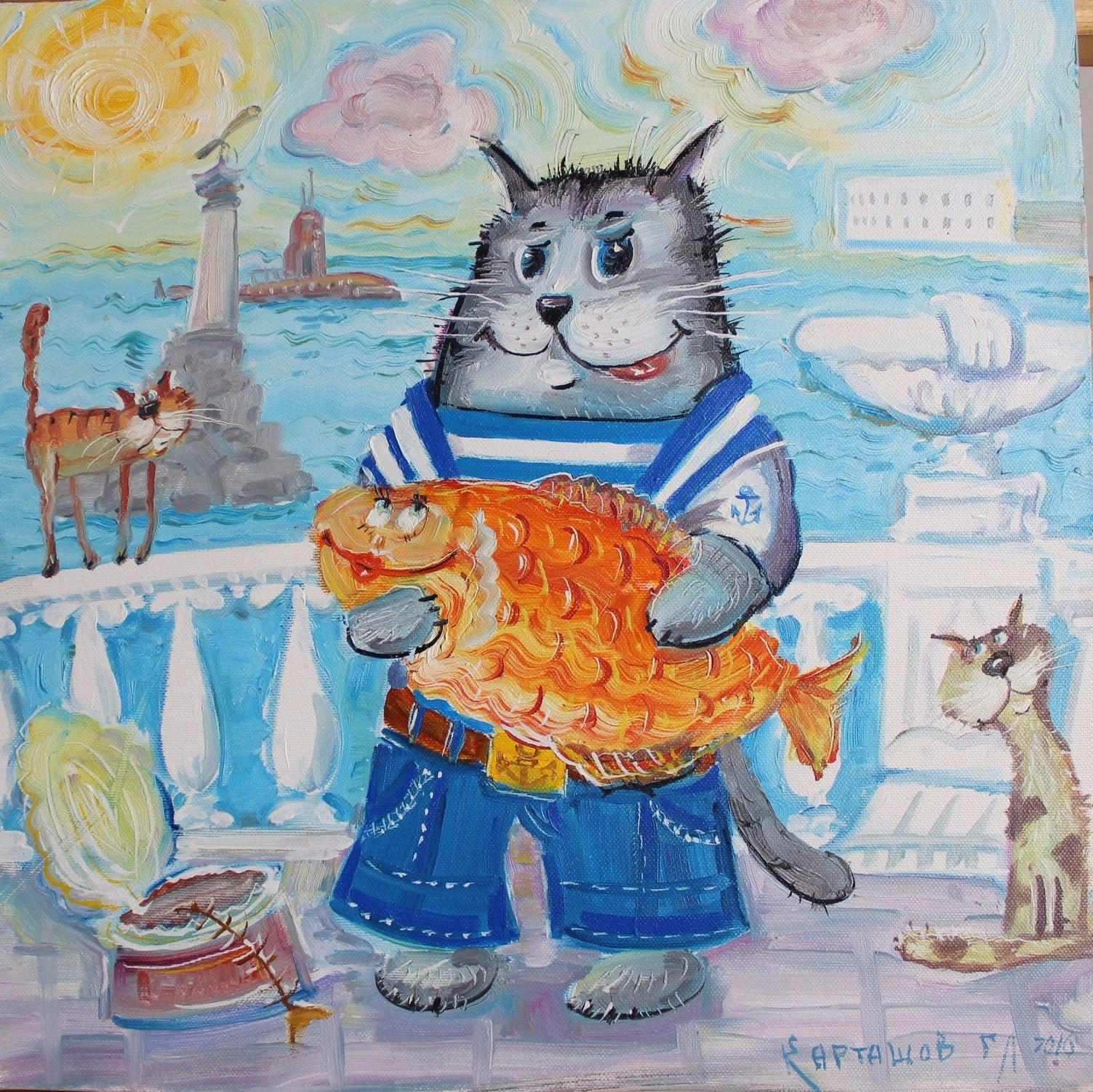 помощь в открытии кафе «Кот в Матроске»